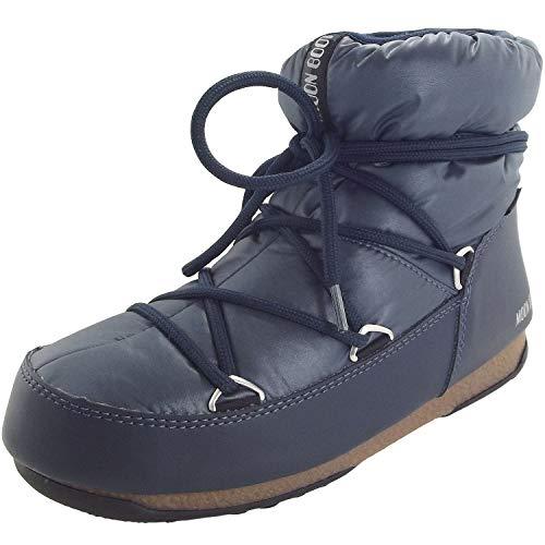 Moon-boot W.E. Low WP, Bottes de Neige Femme, Bleu (Blue-Denim 006), 37 EU