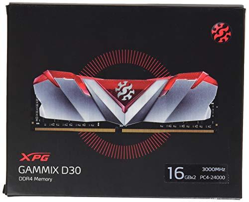 ADATA AX4U3000316G16-DR30 - Kit di memoria DIMM DDR3 da 16 GB, XPG, colore rosso