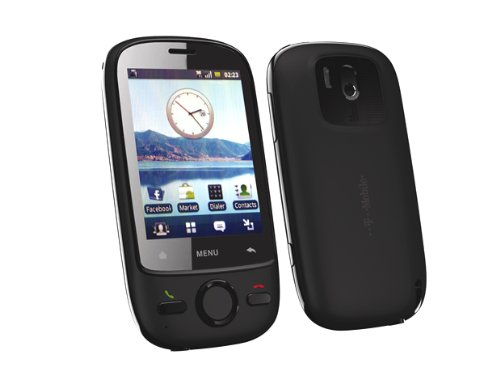 Smartphone T-Mobile Pulse Mini Schwarz Android 2.1 (3,2 Mpx. , WLAN , GPS) ohne Simlock