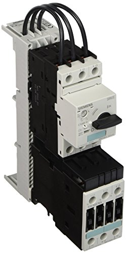 Siemens 3RA11 20-1ED23-0BB4 Combination Starter Complete Unit, Non-Reversing Fast Bus, DC Coil, S0 Size, No Contacts, 2.8-4 FLA Setting Range Inverse Time Delayed Overload Release