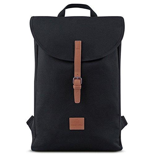 Backpack Women & Men Black Brown- JOHNNY URBAN'Liam' Daypack from...