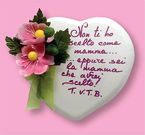 Idea Regalo per La Festa della Mamma 9 Maggio - LIMITED EDITION Idea Regalo, Regala il tuo cuore alla Mamma, Personalizzabile.