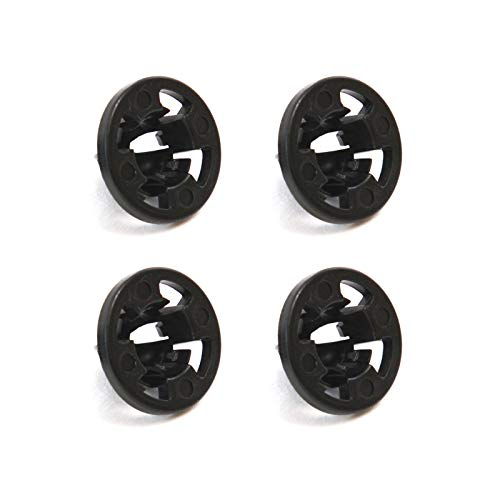 Red Hound Auto 4 Tail Light Grommets Retainer Clips Compatible with Dodge Ram 1500, 2500, 3500 (2007-2013)