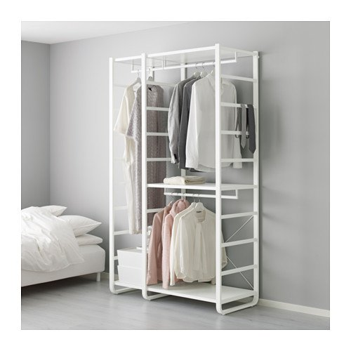 Ikea 3 sections shelf unit, white 16204.17265.1818