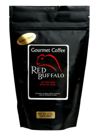 Red Buffalo Almond Chocolate Amaretto Flavored Coffee, Ground, 1 pound
