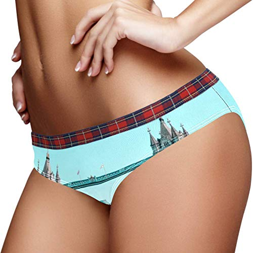 TIZORAX Tower Bridge Vrouwen Ondergoed Bikini Mode Dames Korte Panties