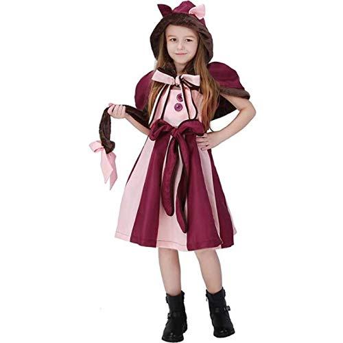 HengYue Disfraz De Cosplay De Halloween para Nios para Nias Traje De Fotografa De Rendimiento Traje De Disfraces para Nios,XL