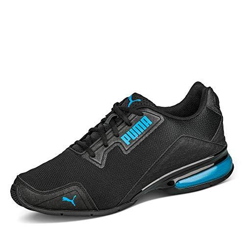 PUMA Leader VT Tech Mesh, Zapatillas para Correr Unisex-Adulto, Negro (Black/Nrgy Blue), 41 EU