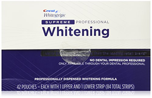 Crest Whitestrips Supreme Professional Whitening 84 Strips