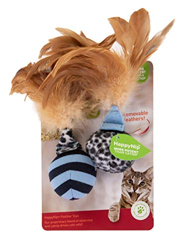 Petlinks Feather Flips Feathered Ball Cat Toy