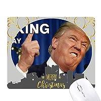 アメリカの大統領は冗談をfxxkingトランプ クリスマスイブのゴムマウスパッド