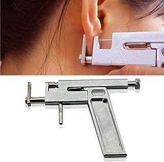 New Professional Steel Ear Nose Navel Body Piercing Gun 98pcs Studs Tool Kit Set