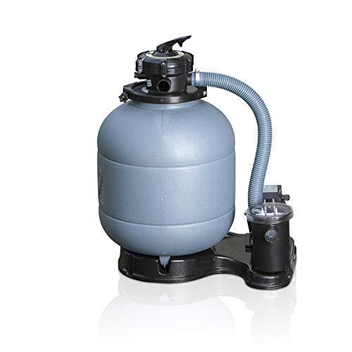 Gre FS400 Monoblocs de Filtración, Gris, Con bomba de 0,31 CV