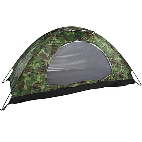 joyvio Tienda de campaña Tipo Domo al Aire Libre 1 2 Personas Hombre Tienda de protección UV Yurta de Camuflaje Impermeable para Deportes al Aire Libre Senderismo Escalada Camping