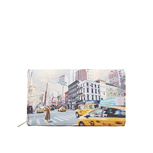 YNOT YES-364S0 PORTAFOGLIO Unisex STAMPA NEW YORK TU