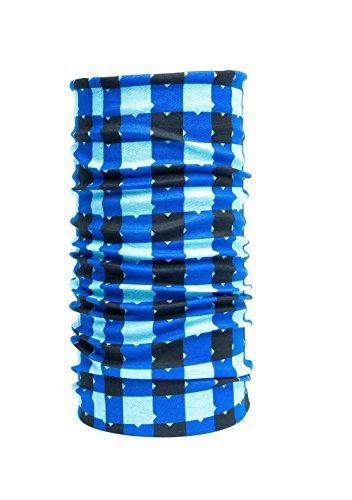 Nexisto GmbH Nexi Multifunktions Tuch Schlauchtuch - universell einsetzbar als Schal, Kopftuch, Kälteschutz - Multicolour M07