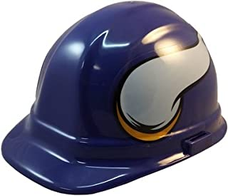 Texas American Safety Company NFL Minnesota Vikings Hard Hats with Ratchet Suspension