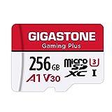 Gigastone マイクロSDカード 256GB Micro SD Card Nintendo Switch 動作確認済 SD アダプタ付 adaptor MicroSDXC A1 U3 V30 C10 100MB/S 高速 microsdカード UHS-I Full HD & 4K UHD動画 国内正規品