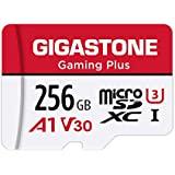 Gigastone 微型SD卡 256GB Micro SD Card Nintendo Switch 已確認操作 SD 帶適配器 adaptor MicroSDXC A1 U3 V30 C10 100MB/S 高速 microsd卡 UHS-I Full HD & 4K UHD視頻 日本國內正品