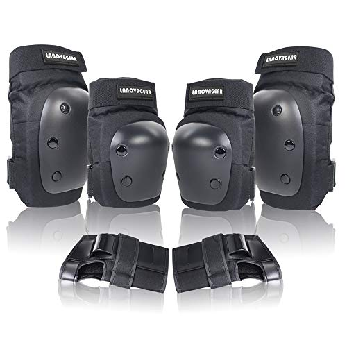 LANOVAGEAR Knee Elbow Pads with ...