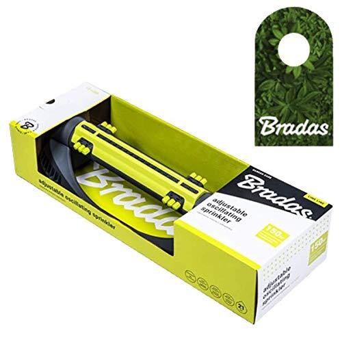 Bradas Viereckregner Rasensprenger Regner Sprinkler 21 Lime LINE LE-6305 4437