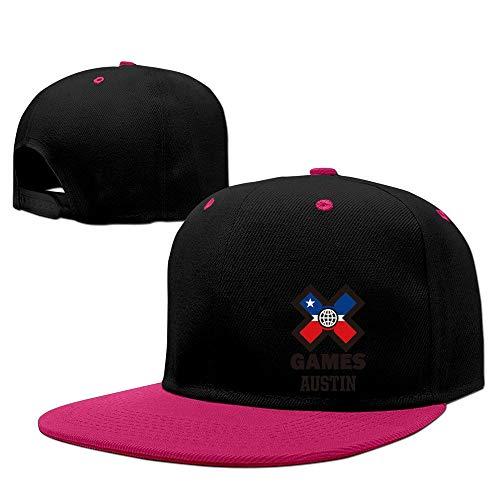 MINUCM Austins X Games Extreme Sports 2016 Logo Design Snapback Hats