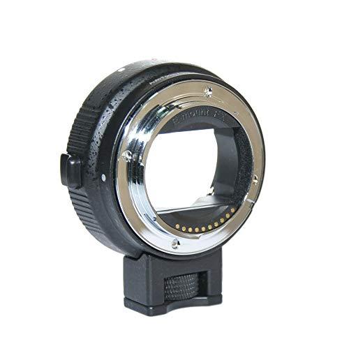 Jintu - Adattatore per obiettivo autofocus da EF-NEX Canon EOS EF con attacco E a fotocamera Sony NEX E