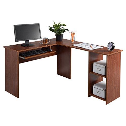 Fineboard FB-LD01-RW L-Shaped Office Cor...