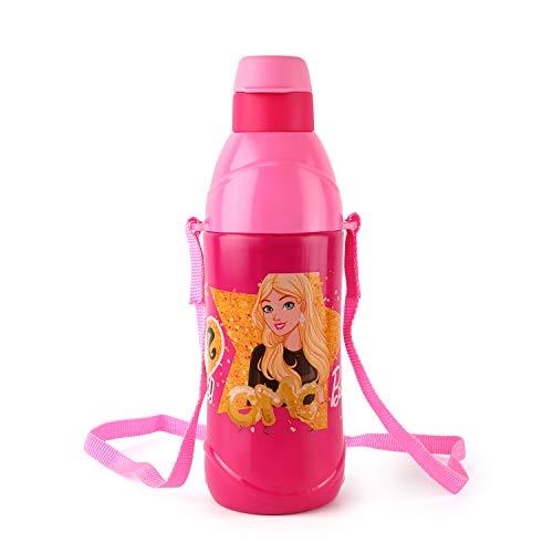 Cello Puro Kids Steel Inner 600ml Water Bottle for Kids, Pink