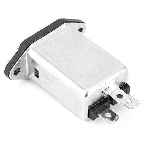 SANON Filter Hochwertige Iec-320 C14 Steckdose Elektronische Komponenten 10A Cw1d-10A-T