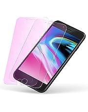 iPhone8Plus ブルーライトカット ガラスフィルム 7Plus ブルーライト フィルム 【2枚】 アイフォン7プラス 強化 ガラス アイホン8プラス 保護 ふぃるむ 7Plus 8Plus 液晶 シート 【浮かない 目の疲れ軽減 耐衝撃】