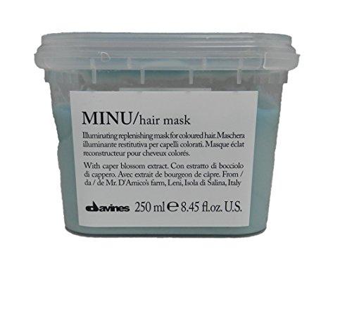 Davines Minu - Mascarilla de cabello, 250 ml