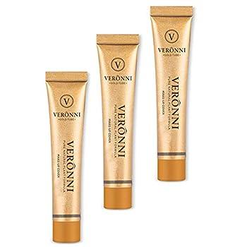 VERONNI Coverage Makeup Cover Concealer Face Make Up Cover Up Waterproof Foundation Amazing Scar Make Up Concealer SPF 30 1.1OZ/30g  211