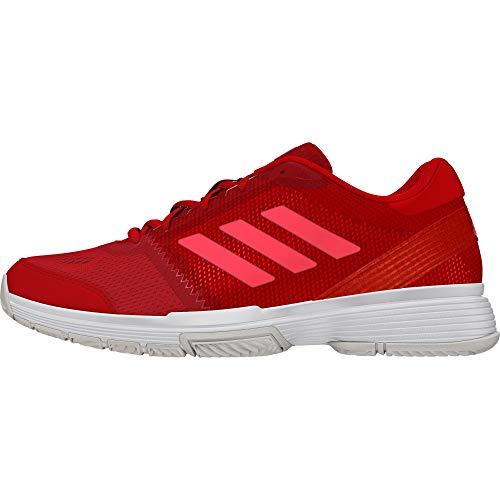 adidas Damen Barricade Club Tennisschuhe, Rot (Escarl/Rojdes/Ftwbla 000), 38 2/3 EU