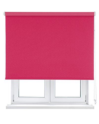 VIEWTEX Estor Enrollable Opaco/Black-out/OSCURANTE/Disponible EN Varias Medidas Y Colores (150_x_250_cm, Fucsia)