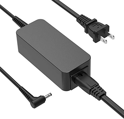 45W 2.25A AC Charger Fit for Lenovo IdeaPad 100S-14 (100S 14 Inch) 100S-14IBR 100S-14IBY Model 80R9 Laptop Power Supply Adapter Cord Round tip