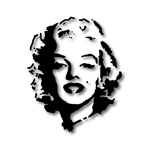 Marilyn Monroe - Adesivo per frigorifero, in vinile, formato A4, decorazione da parete, decalcomania da cucina