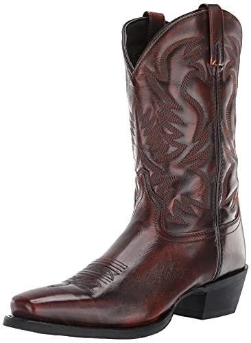Laredo Men's Mid-Calf Boot Western, Tan, 9.5 X-Wide
