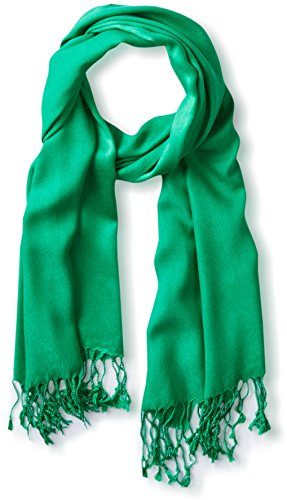Tahari by Elie Tahari Solid Pashmina Scarf 100% Viscose Green