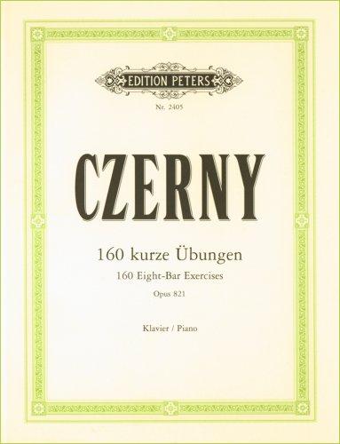 Ubungen(160) op.821 piano: für Klavier