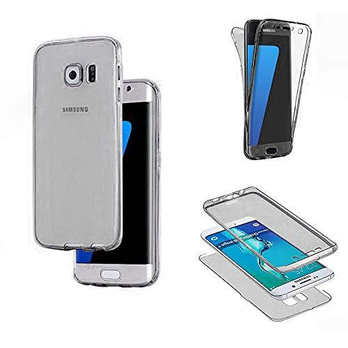 SevenPanda TPU Handyhülle für Samsung Galaxy S20 Plus 2020, Samsung S20+ Plus Hülle, Shockproof Soft TPU Silikon Slim Front und Back 360 Grad Abdeckung für Samsung Galaxy S20+ Plus - Schwarz