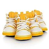 Feidaeu Artículos para Mascotas Producto Zapatos de Lona Ocio Cálido Active, cómodo, Transpirable 4 Colores Senderismo para Perros Zapatillas para Correr