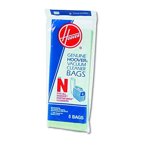 Hoover Commercial 4010038N Commercial Portapower Vacuum Cleaner Bags (Pack of 5)