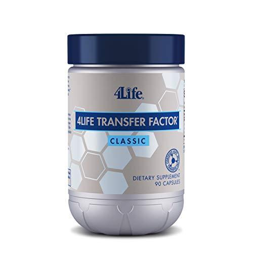 4Life - Transfer Factor Classic - Immune System Support Featuring 4Life Transfer Factor from Cow Colostrum - 90 Capsules