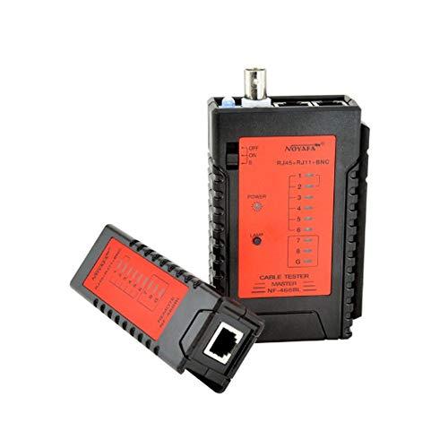 lifebea Detector de gas 4 gas RJ45 RJ11 BNC Cable Tracker Tester Red Ethernet Network Network Tester NF_468BL interruptor sensor de flujo de agua