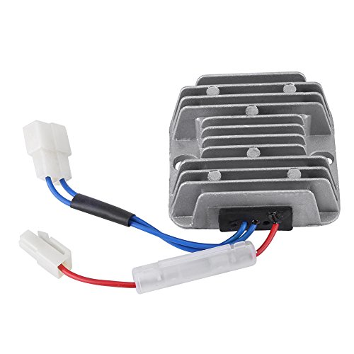 12V DC Regulador de voltaje, 178F / 186F Regulador del voltaje rectificador AVR, Regulador motor diesel para KDE3500 5000 6500 6700 generador