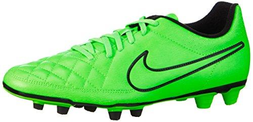 Nike Herren Tiempo Rio II FG Fußballschuhe, Grün (Green Strike/Grn Strk-Blk-Blk), 44.5 EU