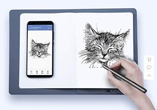 xaiomi 36notes Tablet mit 36 Notizen – Handschriften/Zeichnen auf Papier auf Smartphone Tablet