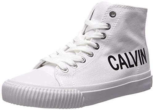 Calvin Klein Jeans Sneakers Donna iole Canvas r7776 37 Bianco
