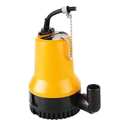 Everfarel - Bomba sumergible CC 12 V, 50 W, 4500 L/H, para